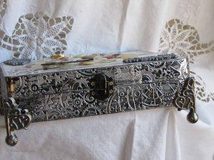 embossed metal foil