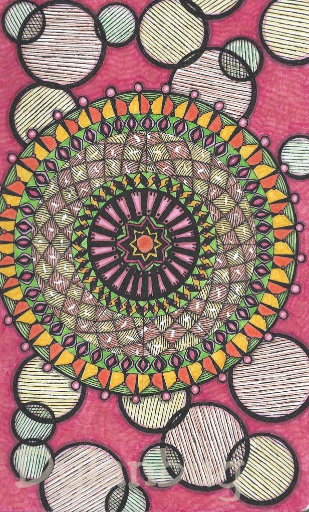 sketchbook mandala 2002