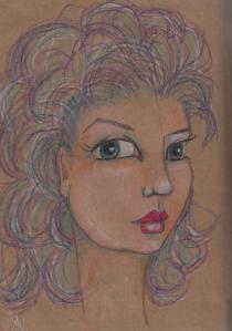 crayola face