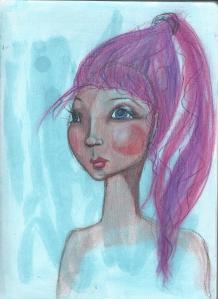 pastel face